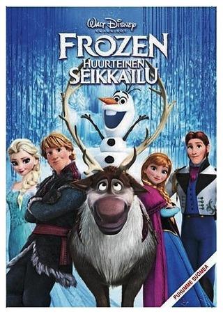 Frozen - Huurteinen Seikkailu Dvd