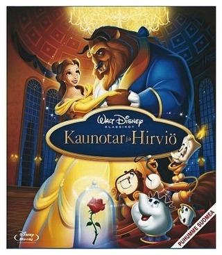Kaunotar Ja Hirviö Blu-Ray
