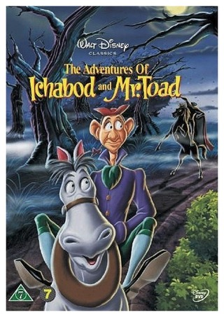 The Adventures Of Ichabod & Mr. Toad Dvd