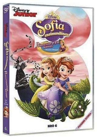 Sofia Ensimmäinen 6 - Prinsessa Ivyn Kirous Dvd