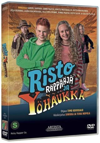 Dvd Risto Räppääjä Ja Yöhaukka