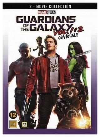 Dvd Guardians Of The Galaxy Vol 1&2