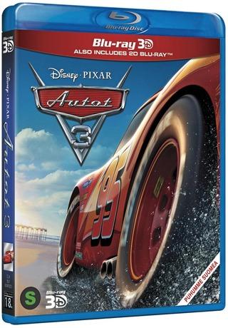 Autot 3 3D Blu-Ray