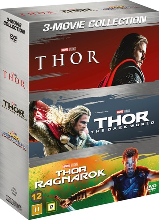 Dvd Thor 1-3 Box