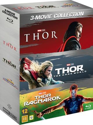 Thor 1-3 Box Blu-Ray