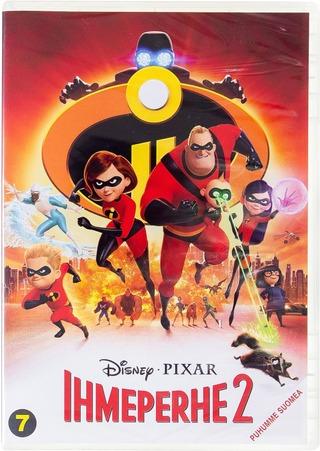 Ihmeperhe 2 Dvd