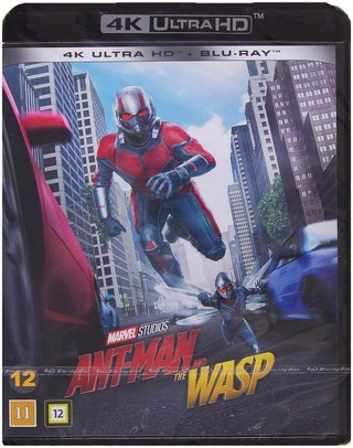 Ant-Man And The Wasp 4K Uhd + Blu-Ray