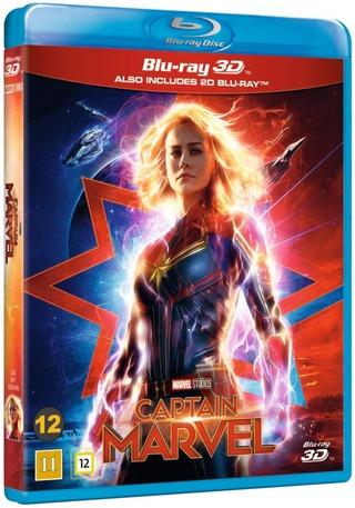 Captain Marvel 3D Blu-Ray + Blu-Ray