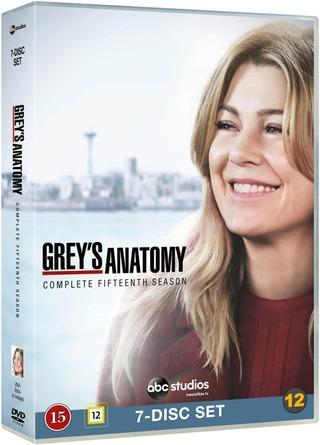 Greyn Anatomia 15. Tuotantokausi Dvd