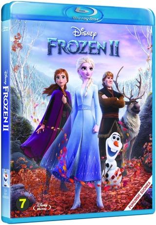 Walt Disney frozen 2 blu-ray