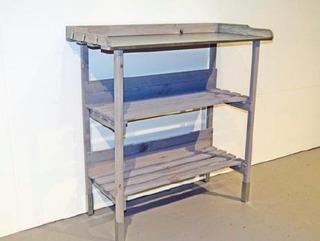 Bison Istutuspöytä Harmaa 78X35x80cm