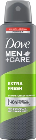 Dove Men+Care Ap Spray Extra Fresh 150Ml
