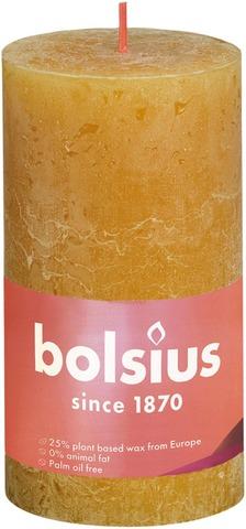 Bolsius rustiikkikynttilä 68x130 Honeycomb yellow 19