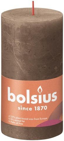 Bolsius Rustiikkikynttilä 68X130 Suede Brown 27