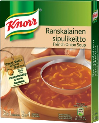 Knorr Keittoaines Ranskalainen Sipulikeitto 2X52 G