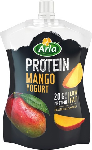 Arla Protein 200 G Vähärasvainen Mangojogurtti On-The-Go
