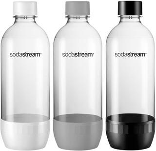 Sodastream Juomapullo Valkoinen/Harmaa/Musta 3X1l