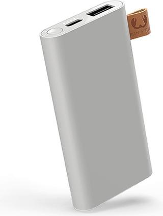 Fresh 'n Rebel Powerbank 6000 mAh USB-C -liitännällä, Ice Grey