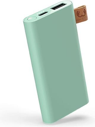 Fresh 'n Rebel Powerbank 6000 mAh USB-C -liitännällä, Misty Mint