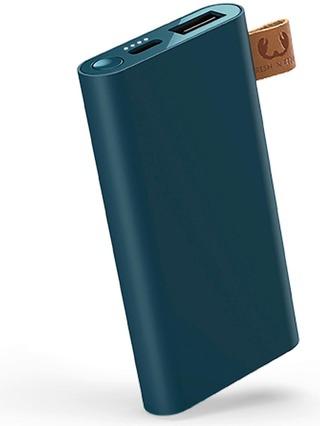 Fresh 'N Rebel Powerbank 6000 Mah Usb-C -Liitännällä, Petrol Blue