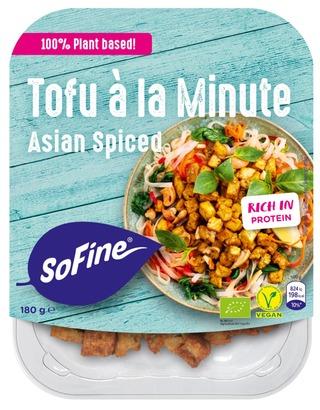 Sofine 180G Marinoidut Tofupalat Aasia Luomu