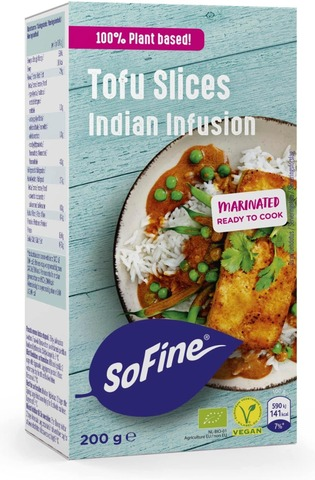 Sofine Luomu Tofuviipale Indian 200G