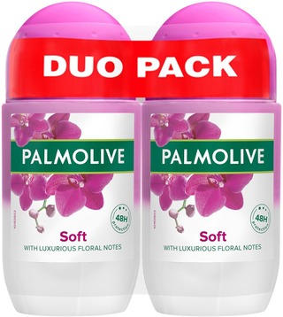 2 X Palmolive Soft Antiperspirantti Roll-On 50Ml