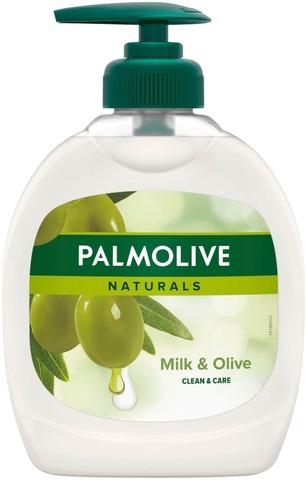 Palmolive Naturals Milk & Olive Nestesaippua 300Ml