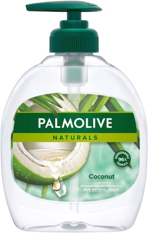 Palmolive Naturals Vegan Coconut Nestesaippua 300Ml