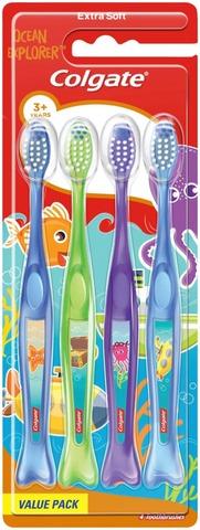Colgate Kids hammasharja 4 kpl