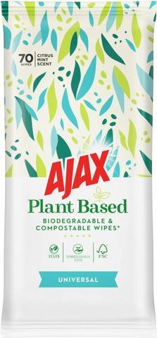 Ajax Multisurface Puhdistusliinat 70Kpl