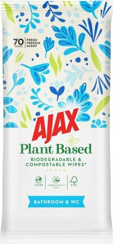 Ajax Bathroom & Wc Puhdistusliinat 70Kpl