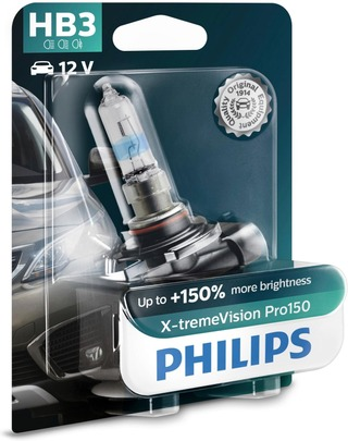Hb3 X-Tremevision Pro150 Ajovalopolttimo