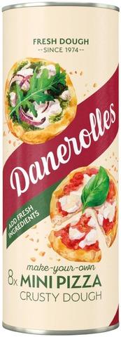 Danerolles 8 Paistovalmista Pizzataikinaa 330G
