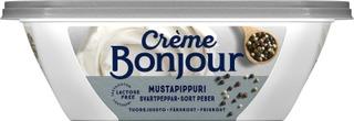 Crème Bonjour 200G Mustapippuri Tuorejuusto Laktoositon