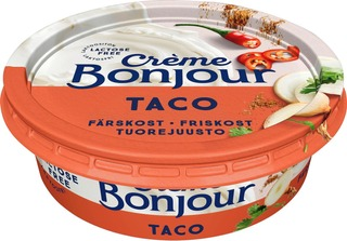 Crème Bonjour 100G Taco Tuorejuusto Laktoositon