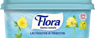 Flora Margariini Laktoositon & Maidoton 400G
