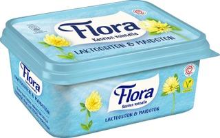 Flora Margariini Laktoositon & Maidoton 600G