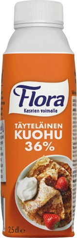 Flora Kuohu 36% 250Ml