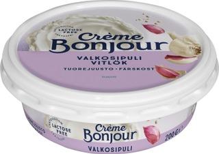 Crème Bonjour 200G Valkosipuli Tuorejuusto Laktoositon