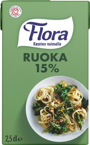 Flora Ruoka 15% 250Ml