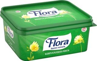 Flora Normaalisuolainen Margariini 60% 1Kg