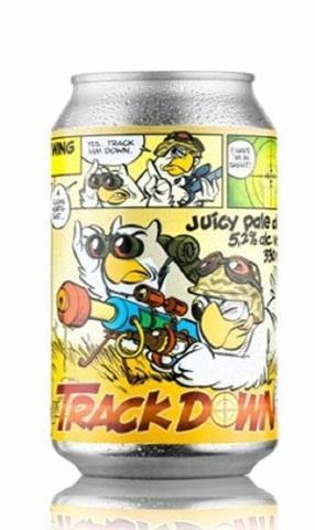 Uiltje Trackdown Juicy Pale Ale Olut 5,2% 33Cl Tlk