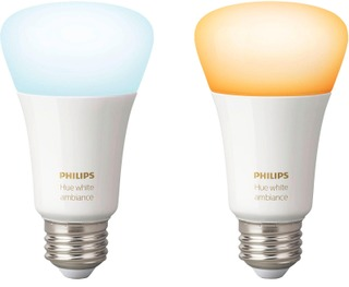 Philips Led-Lamppu Hue White Ambiance E27 2Kpl