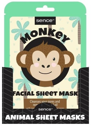 Animal Facial Sheet Mask Monkey 25Ml