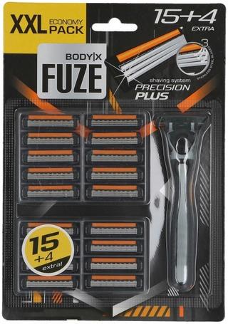 Body-X Fuze partahöylä 15+4  kolmoisterä