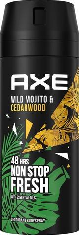Axe Body Spray Wild 150 Ml