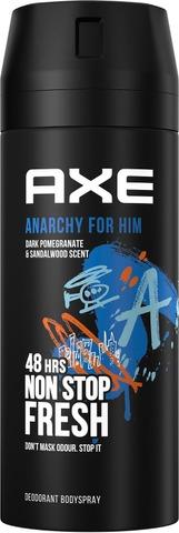 Axe Body Spray Anarchy For Him 150 Ml