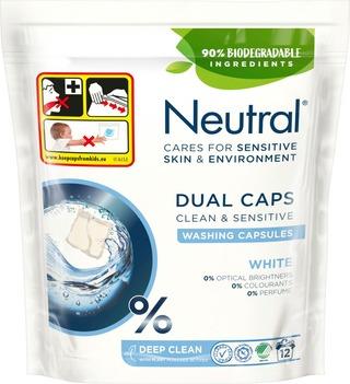 Neutral Pyykinpesukapseli White 12 Kpl