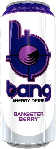 Bang Energy Drink Bangster Berry 0,5L Tölkki